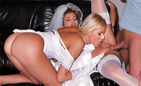 New Bride Wants to Share her Sister in First Marital Sex with Insatiable Husband